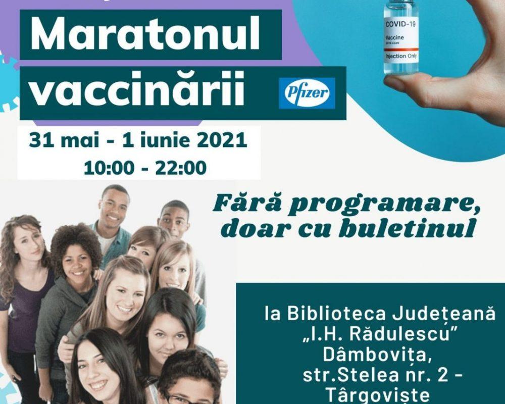 maraton vaccinare