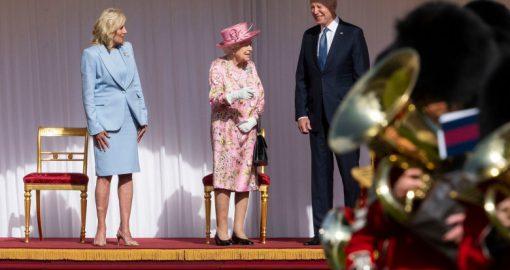 joe biden regina UK