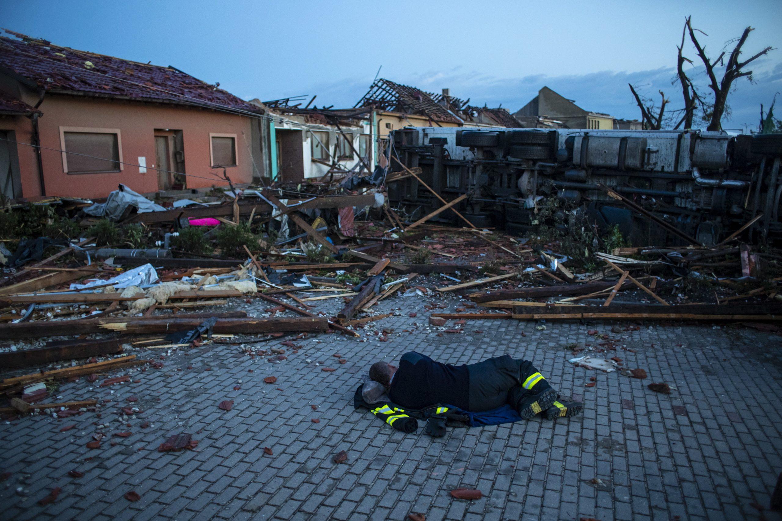 Tornado hits South Moravia region in Czech Republic's south-east